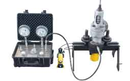 Portable relief valve test bench