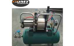Air pressure amplifier system